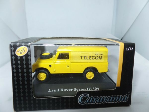 Cararama 7-51970 1/72 Scale Land Rover Series III 109